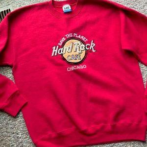 Hard Rock Cafe Vintage LEE Pullover Sweatshirt